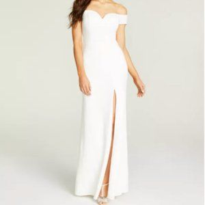 Off-the shoulder Gown